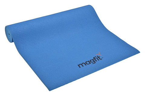 MagFit Yoga Mat 4 mm Blue - Best Price online Prokicksports.com