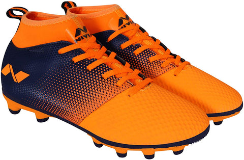 Nivia Ashtang Football Stud - Orange - Best Price online Prokicksports.com