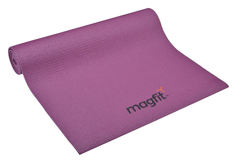 MagFit Yoga Mat 6 mm - Purple - Best Price online Prokicksports.com