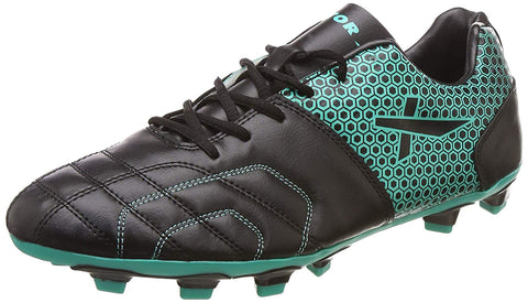 Vector X Breeze Football Shoes, Adult (Black/Sea Green) - Best Price online Prokicksports.com