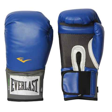 Everlast Pro Style Training Boxing Gloves (Blue) - Best Price online Prokicksports.com
