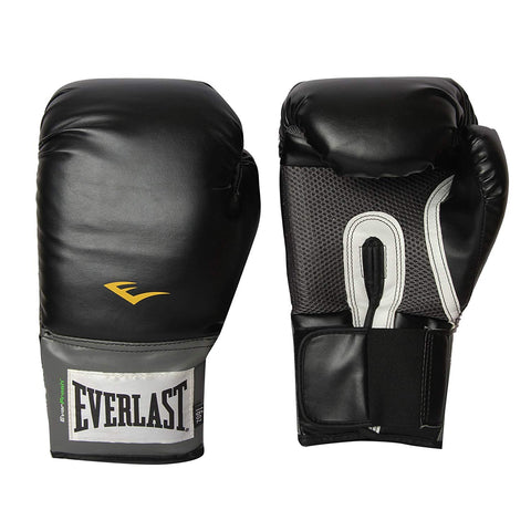 Everlast Pro Style Training Boxing Gloves (Black) - Best Price online Prokicksports.com