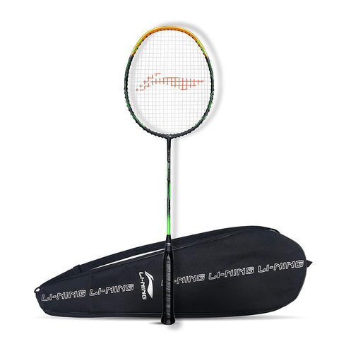 Li-Ning G-Force Superlite 3600 Strung Badminton Racquet Dark Grey/Gold - Best Price online Prokicksports.com