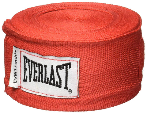 "Everlast 180"" Hand Wraps (Red) - Best Price online Prokicksports.com"