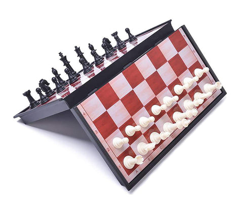 Prokick Premium Magnetic Educational Folding Chess Set with Magnetic Pieces - Best Price online Prokicksports.com