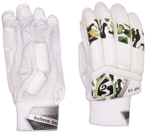 SG Batting Gloves SG HP 33 LH Leather Left Hand Batting Glove (Muticolor) - Best Price online Prokicksports.com