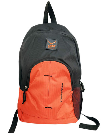 Vicky Backpack (Rubber Logo), Black/Red - Prokicksports.com