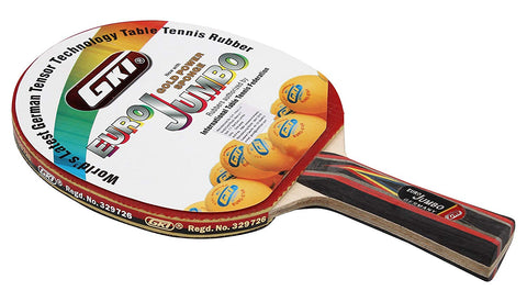 GKI Euro Jumbo Table Tennis Racquet - Best Price online Prokicksports.com