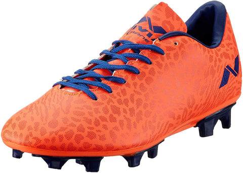 Nivia 485O Synthetic Crane Football Stud (Orange) - Best Price online Prokicksports.com