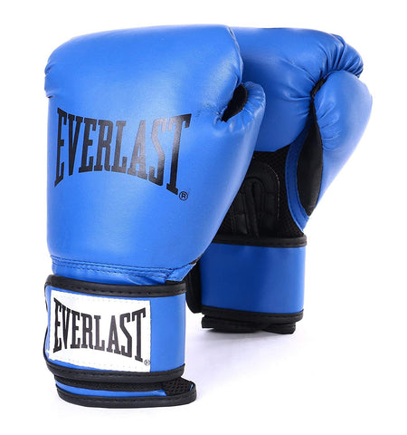 Everlast Classic Training Gloves, Blue - Best Price online Prokicksports.com