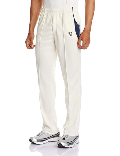 SG Premium Cricket Trouser (White) - Best Price online Prokicksports.com
