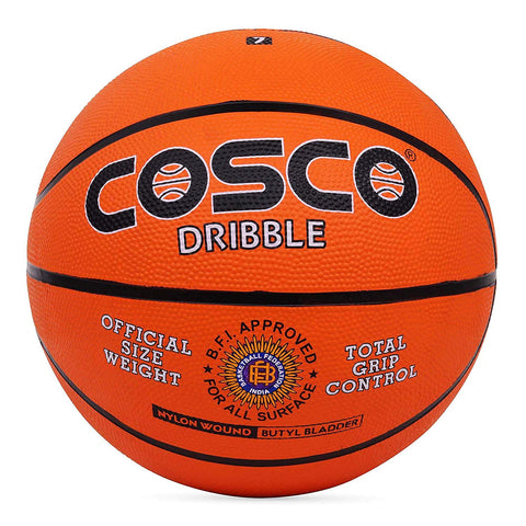 Cosco Dribble Basket Ball (Orange) - Best Price online Prokicksports.com