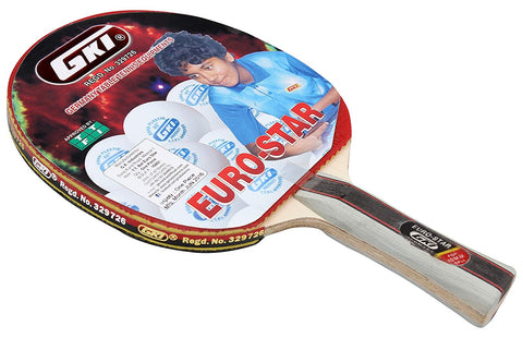GKI Euro star Table Tennis Racket - Best Price online Prokicksports.com