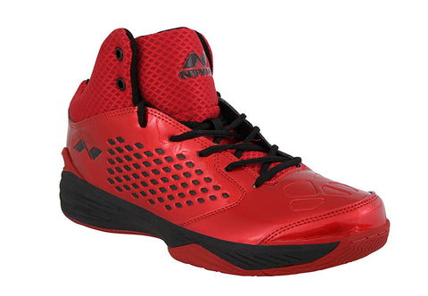 Nivia Warrior 174RB Mesh Basketball Shoes, (Red) - Best Price online Prokicksports.com