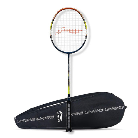 Li-Ning G-Force Superlite 3800 Strung Badminton Racquet Navy/Copper - Best Price online Prokicksports.com