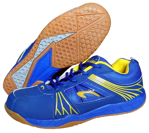 Proase Non-Marking Badminton Court Shoes, Blue - Best Price online Prokicksports.com