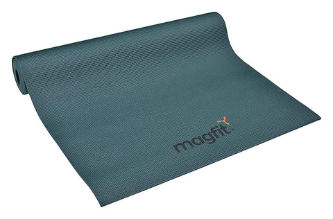 MagFit Yoga Mat 4 mm Dark Green - Best Price online Prokicksports.com