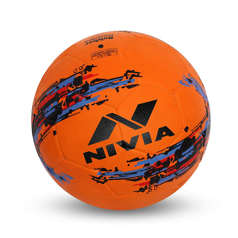 Nivia Storm Football, Size 5 (Orange) - Best Price online Prokicksports.com