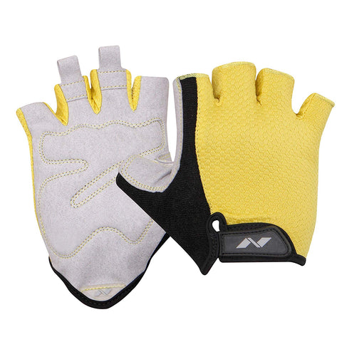 Nivia Python 885SB Sports Gloves (Yellow) - Best Price online Prokicksports.com