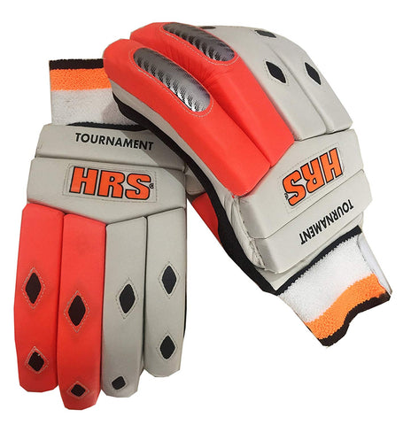HRS Tournament Floro Right Hand Batting Gloves, Men's - Prokicksports.com