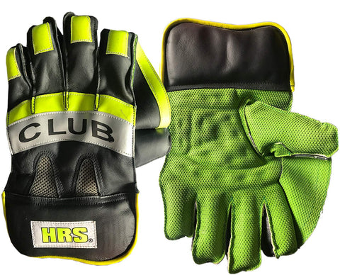 HRS Club Wicket Keeping Gloves, Men's - Prokicksports.com