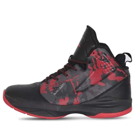 Vector X BB-19 Basketball Shoes for Men's (Black-Red) - Best Price online Prokicksports.com