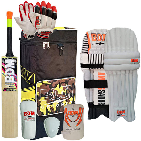 BDM Summer Special Economy Cricket Kit (Color May Vary) - Best Price online Prokicksports.com