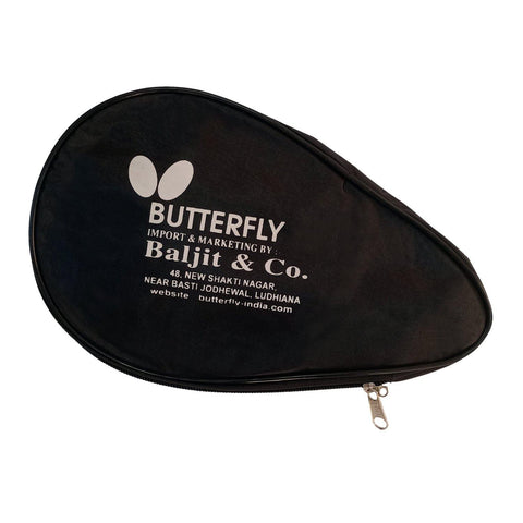 Butterfly Table Tennis Bat Cover - Black (Single) - Best Price online Prokicksports.com