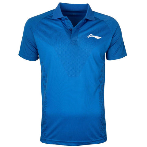 Li-Ning Sports Polo Tshirt, Royal Blue - Best Price online Prokicksports.com