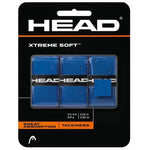 Head Extreme Soft Tennis Grip (Blue) - Pack of 3 - Best Price online Prokicksports.com