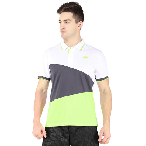 Yonex Tru-Cool Ultra Soft Badminton Collar T-Shirt - Acid Lime - Best Price online Prokicksports.com