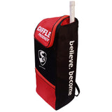 SG Duffle Prodigy Cricket Kit Bag, Black/Red - Best Price online Prokicksports.com