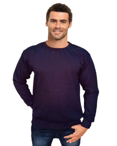 Prokick Men's Round Neck Sweatshirt - Navy - Best Price online Prokicksports.com