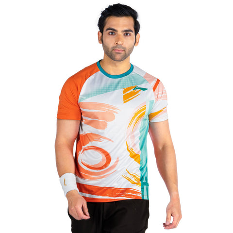 Prokick Men's Round Neck Sweatshirt - Orange - Best Price online Prokicksports.com