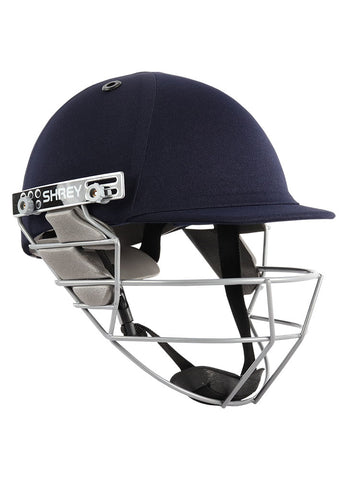 Shrey Star Steel Cricket Helmet, Navy - Best Price online Prokicksports.com