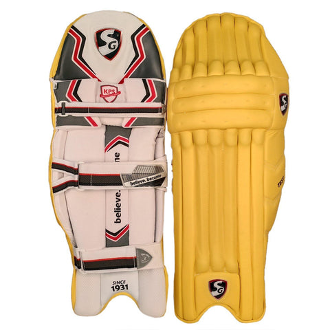 SG Test Batting Legguard - Yellow - Best Price online Prokicksports.com