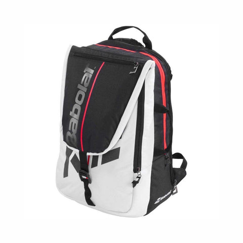 Babolat Pure Strike Tennis Backpack - White/Red - Best Price online Prokicksports.com