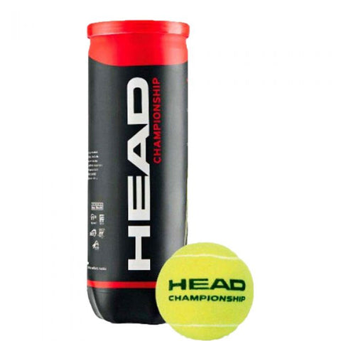 Head Championship Tennis Balls (Pack of 3) - Best Price online Prokicksports.com