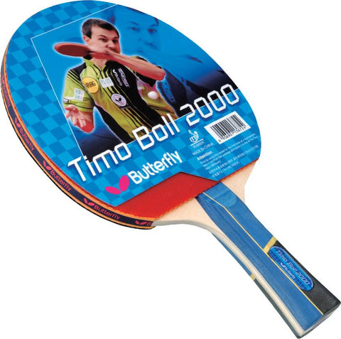 Butterfly Timo Boll 2000 Table Tennis Racquet - Best Price online Prokicksports.com