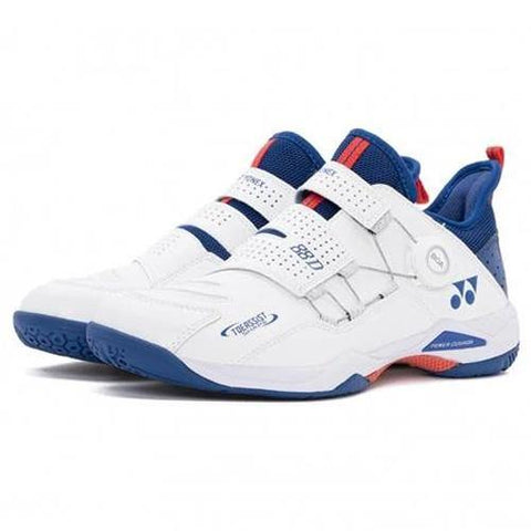 Yonex SHB 88 Dial Power Cushion Badminton Shoes For Men White/Blue - Best Price online Prokicksports.com