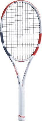 Babolat 101406 323 Pure Strike 16/19 U NC Tennis Racquet - White Red Black - Best Price online Prokicksports.com