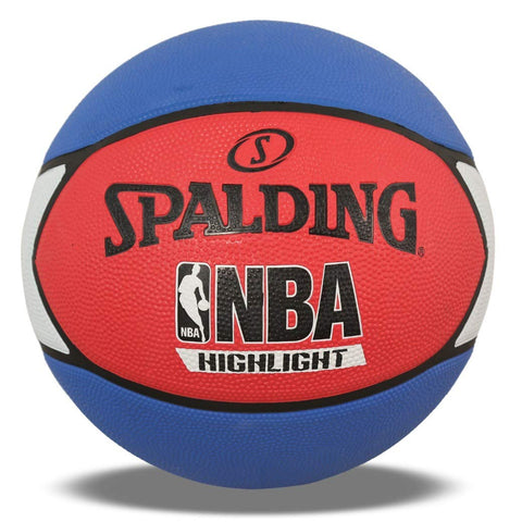 Spalding NBA Highlight Basketball (Red-White-Blue) (Size-7) - Prokicksports.com