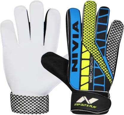 Nivia Web Football Goal Keeper Gloves - Best Price online Prokicksports.com