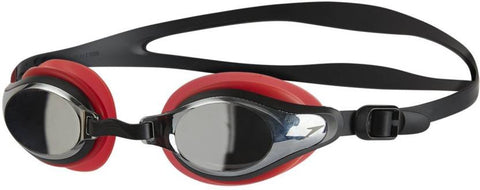 Speedo 811319B990 Blend Mariner Supreme Goggles (Red/Silver) - Best Price online Prokicksports.com