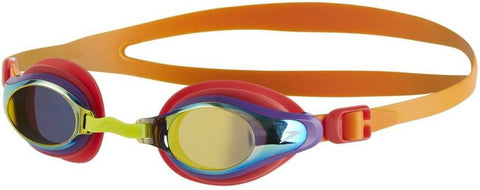 Speedo 811320B989 Blend Mariner Supreme Goggles, Kids (Orange/Gold) - Prokicksports.com