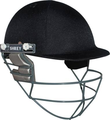 Shrey Match Mild Steel Visor Cricket Helmet, Men's (Navy Blue) - Prokicksports.com