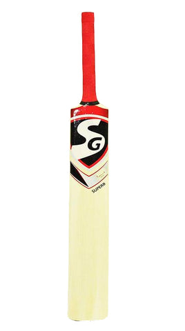 SG Superb Kashmir Willow Cricket Bat, Senior Short Handle - Prokicksports.com