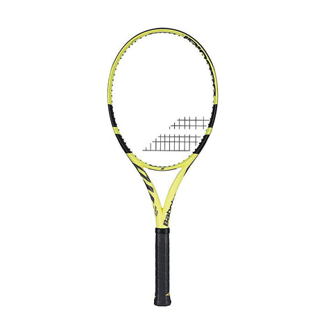 Babolat 101358 Pure Aero Team NC Tennis Racquet - Yellow/Black L3(4 3/8) - Best Price online Prokicksports.com