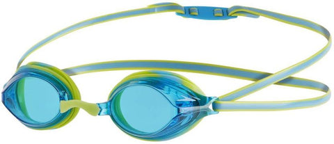 Speedo 811323B994 Blend Vengeance Goggles, Kids (Green/Blue) - Prokicksports.com