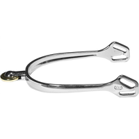Herm Sprenger Ultra Fit Stainless Steel Spurs, comfort roller - horizontal